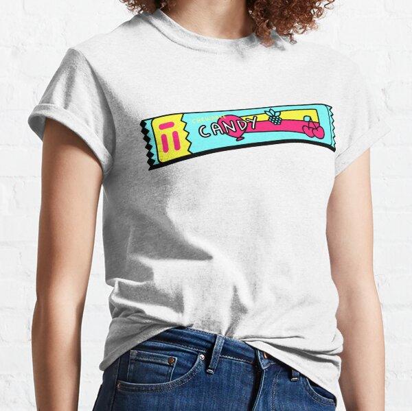 3D candy/ cute retro candy tshirt/ Gummy Bears T Shirt Funny T Shirt for Women Ladies Men Kids Teen Cool Vintage Graphic T Shirt 80s Retro T Shirt Cute Tee Novelty Candy Shirt psychedelic art trippy Classic T-Shirt