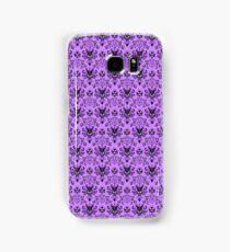 The Haunted Mansion Wallpaper - Light Purple  Samsung Galaxy Case/Skin