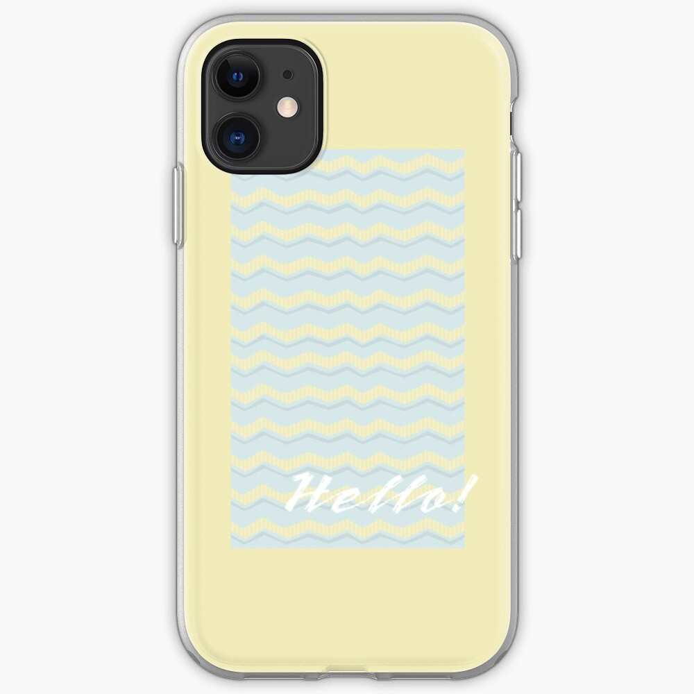 Hello! iPhone Case & Cover
