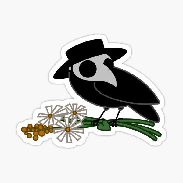 Plague Crow Sticker