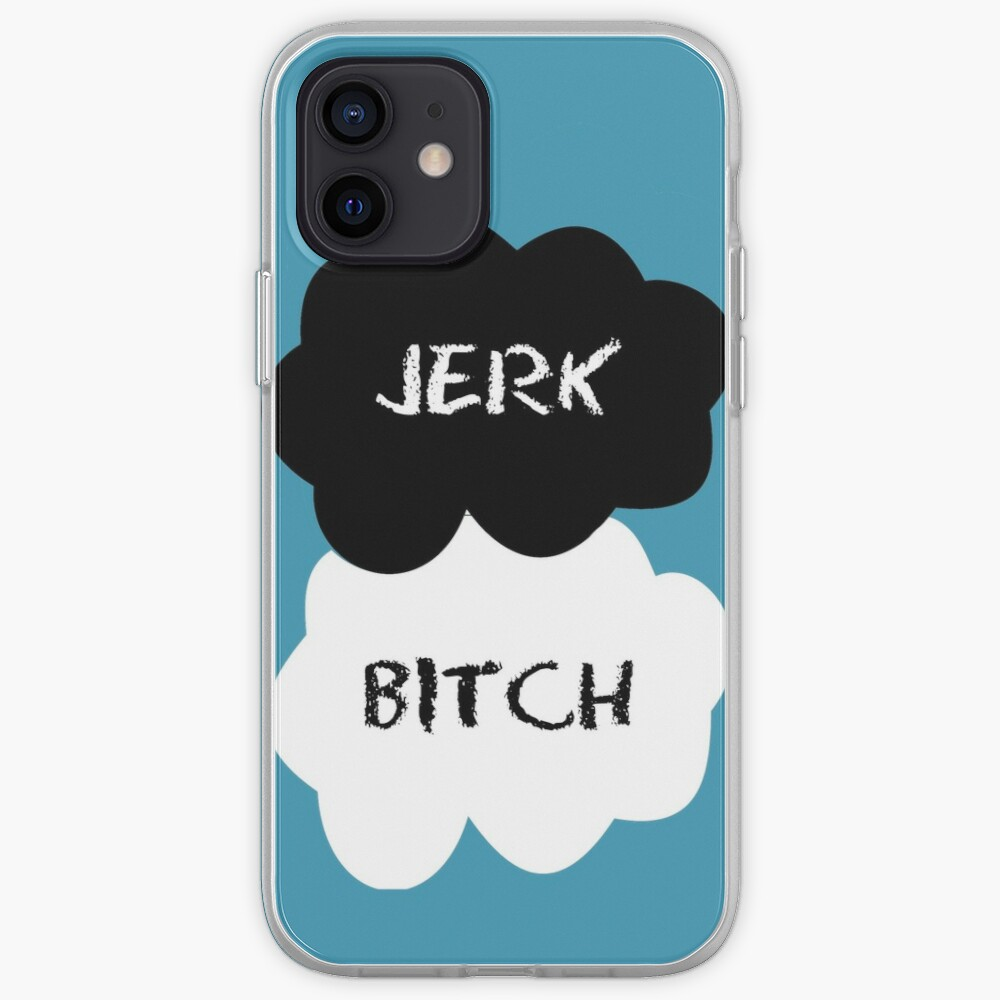 Jerk - Bitch The Fault in Our Stars Clouds iPhone Case & Cover