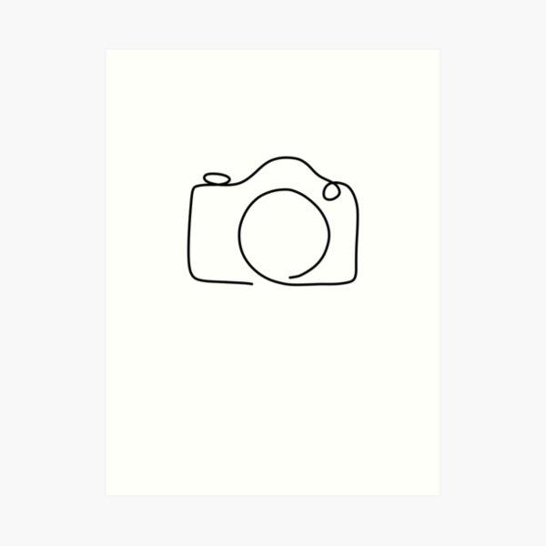 KAMERA | Foto | Geschenk für Fotografen | Fotograf Kunstdruck