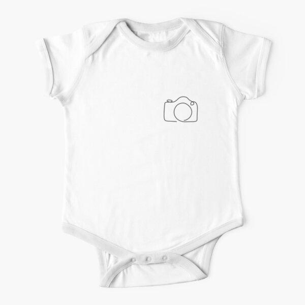LINEPIC CAMERA Geschenk für Fotografen Fotografie Baby Body Kurzarm