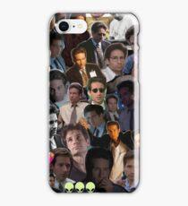 David Duchovny/Fox Mulder Collage iPhone Case/Skin
