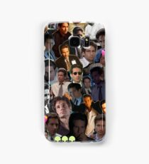David Duchovny/Fox Mulder Collage Samsung Galaxy Case/Skin