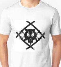 xavier wulf hollow squad BW T-Shirt