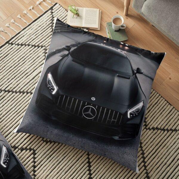 Mercedes monochrome Coussin de sol