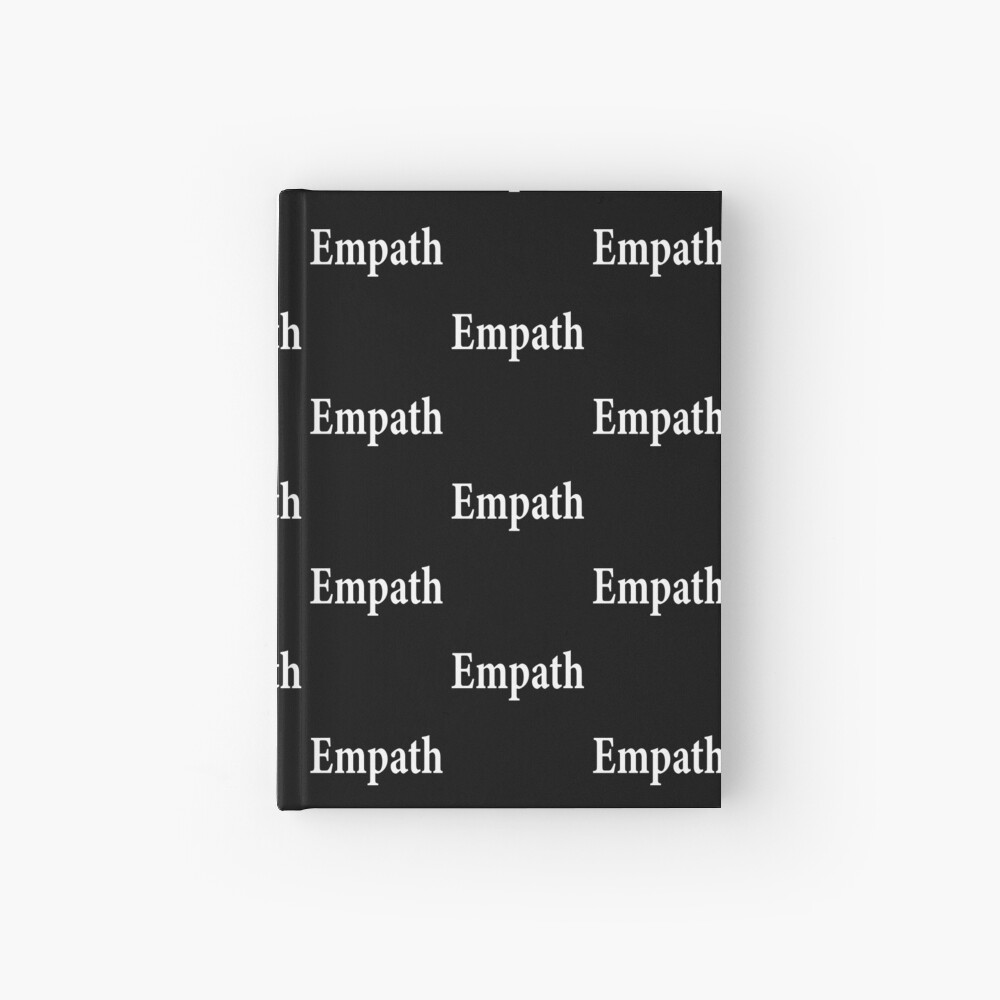 Empath - Paranormal - Spiritual - Introvert - Psychic Hardcover Journal