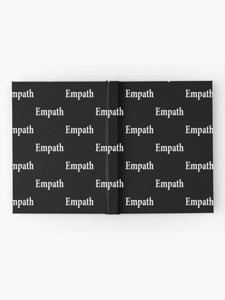 Alternate view of Empath - Paranormal - Spiritual - Introvert - Psychic Hardcover Journal