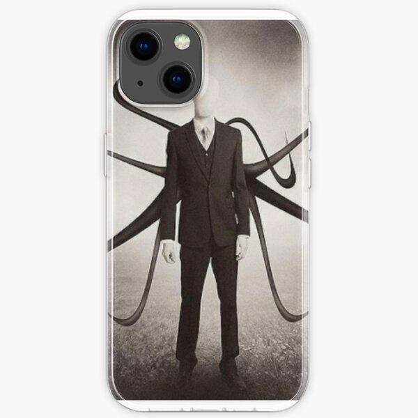 Slender Man style iPhone Soft Case