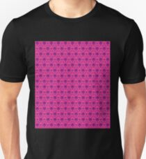 The Haunted Mansion Wallpaper - Pink/Violet Unisex T-Shirt