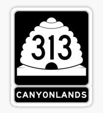 Utah 313 - Canyonlands National Park Sticker