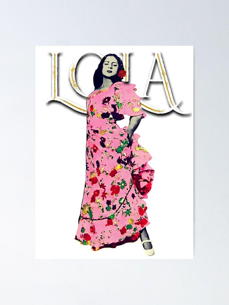 "Vista alternativa de Póster Lola Flores Diseño ""Lola Embrujo"""