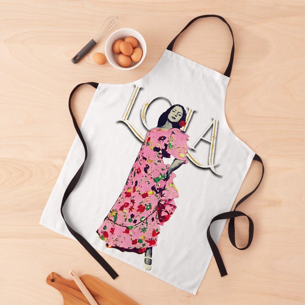 """Lola Flores Diseño """"Lola Embrujo"""" Delantal"""