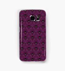 THEE Haunted Mansion Wallpaper - Deep Purple Samsung Galaxy Case/Skin
