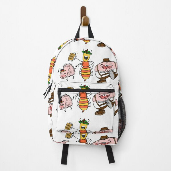 German Oktoberfest Willy Bum Bum Characters Backpack