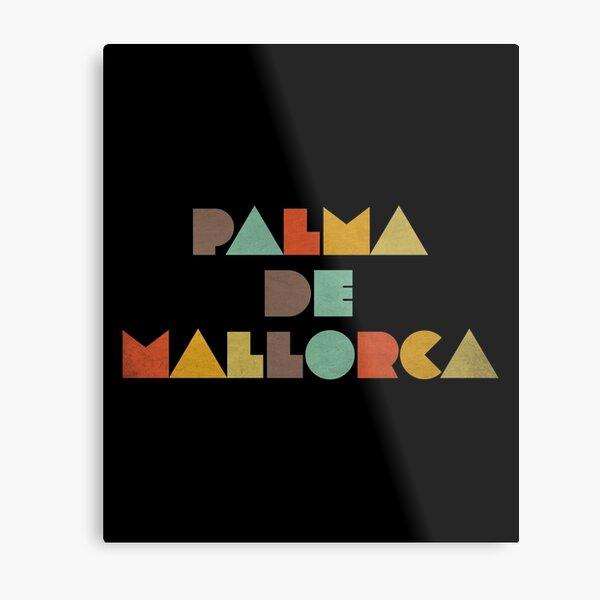 Palma de Mallorca Vintage Metal Print