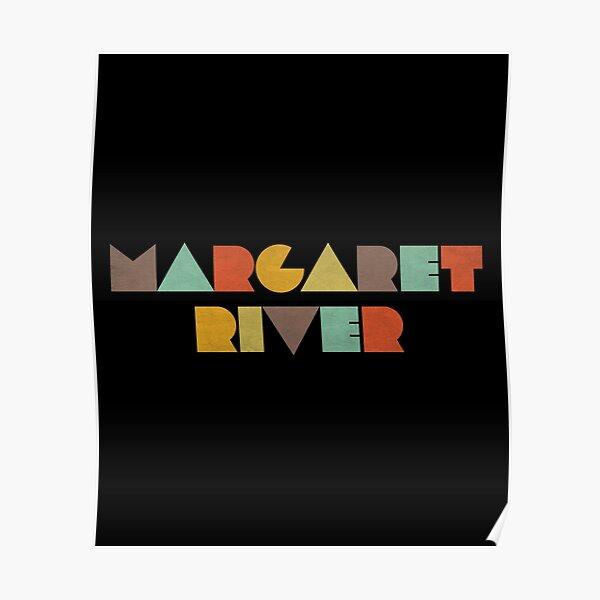 Margaret River Vintage Poster
