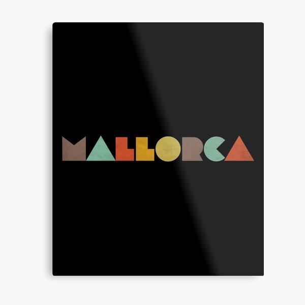 Mallorca Vintage Metal Print