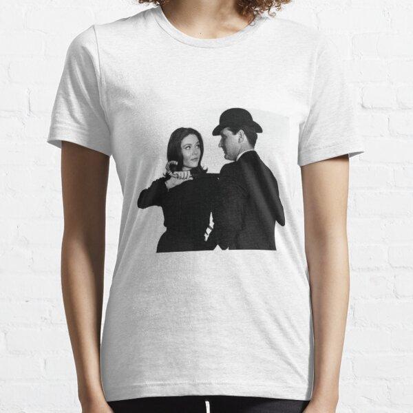 The Avengers TV series black Essential T-Shirt