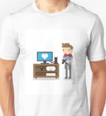 i love video games shirt! (console, pc) Unisex T-Shirt
