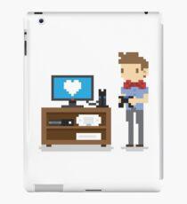 i love video games shirt! (console, pc) iPad Case/Skin
