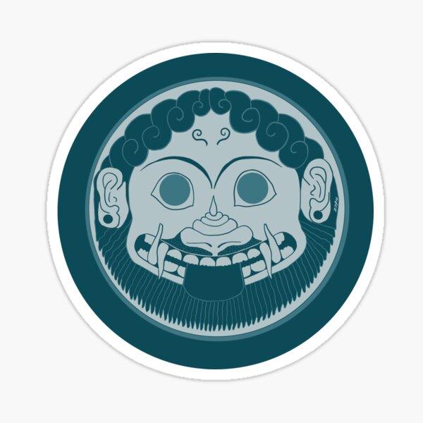 The Gorgon Mask Sticker