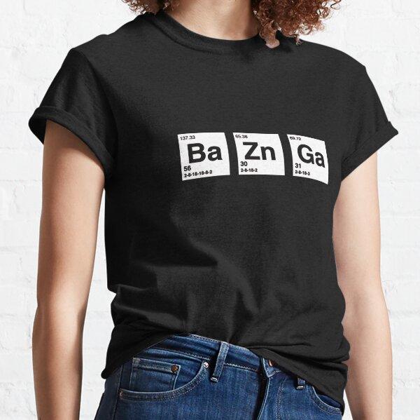 3 Big The Bang Theory Tableau périodique de Sheldon Bazinga T-shirt classique