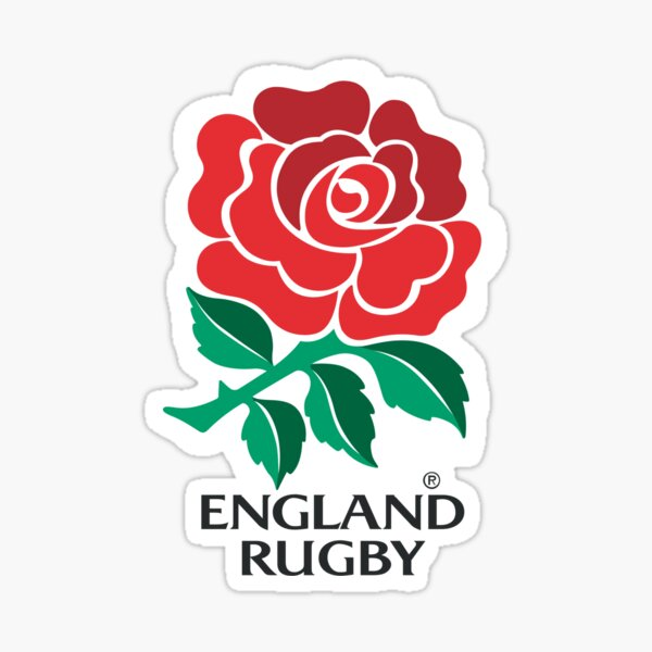 RUGBY ENGLAND Sticker