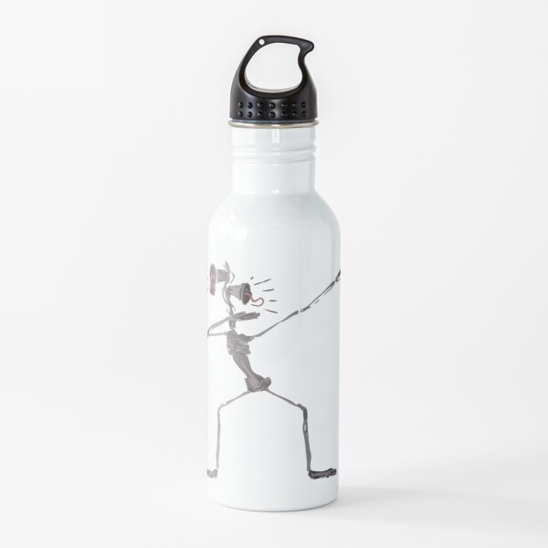 Dabbing Siren Head Water Bottle
