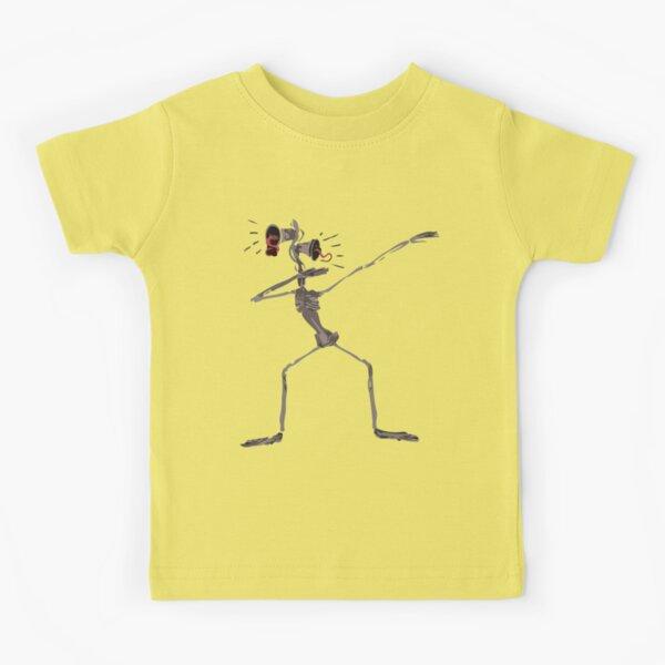 Dabbing Siren Head  Kids T-Shirt