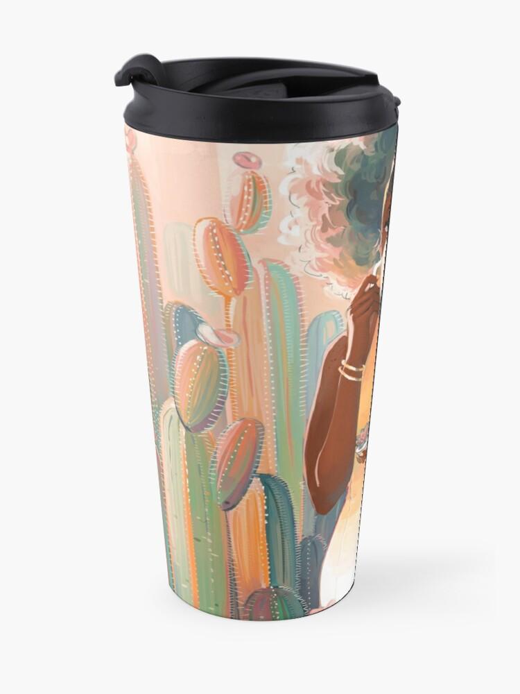 Alternate view of Cacti Tea Travel Mug
