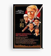 Movie Poster Merchandise Canvas Print