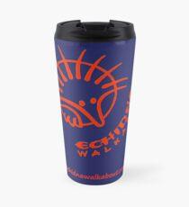 Echidna Walkabout logo Orange Travel Mug