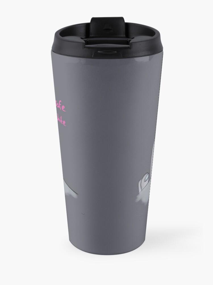 Alternate view of Among Us - Pink Safe Travel Mug