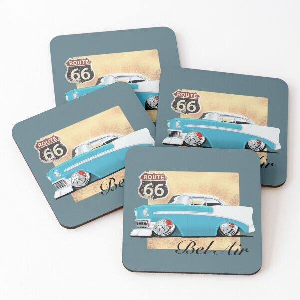 '56 Chevy Bel Air Coasters (Set of 4)