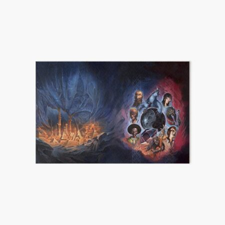 Cthulhuween Day 9 - A Cold Fire Within Cover by Mariusz Gandzel Art Board Print