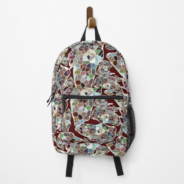 Geometric frog mix Backpack