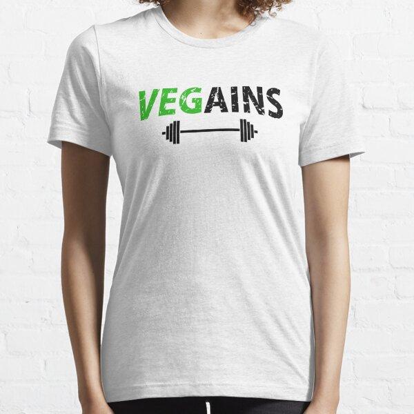 Vegains Gym Bodybuilder Essential T-Shirt