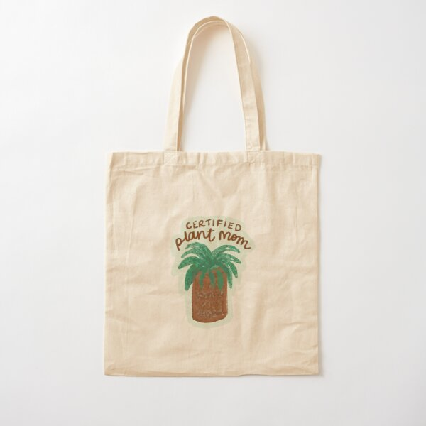Certified plant mom Cotton Tote Bag