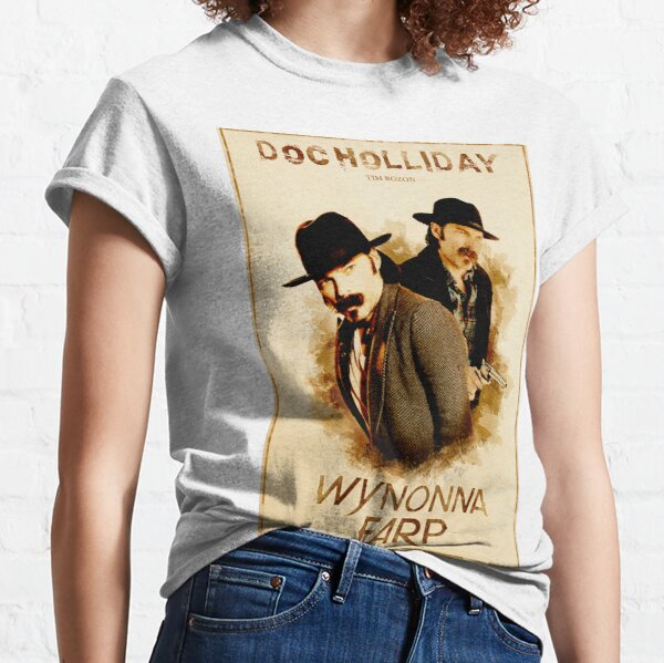 Wynonna Earp - Western Style Cast Poster #10 (Doc Holliday Special) Classic T-Shirt