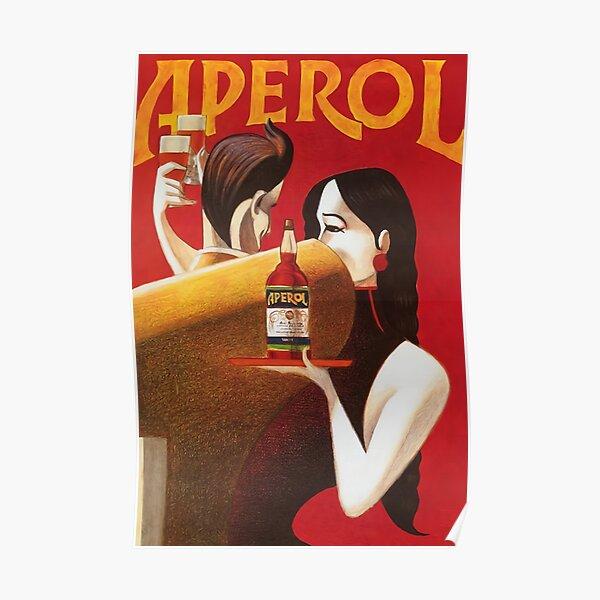 aperol liqueur Poster