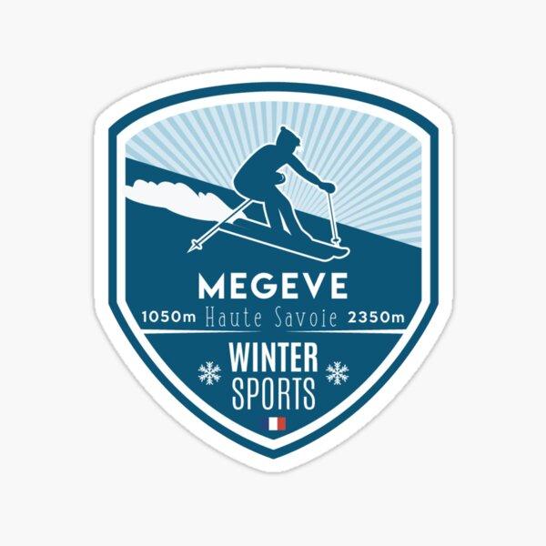 MEGEVE Sticker