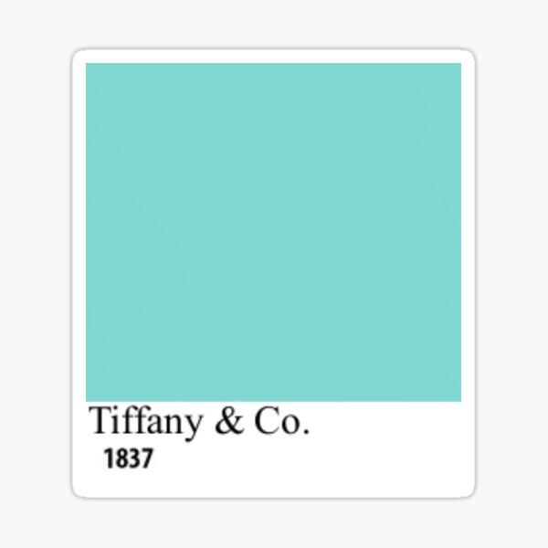 Tiffany Blue Paint Chip Sticker