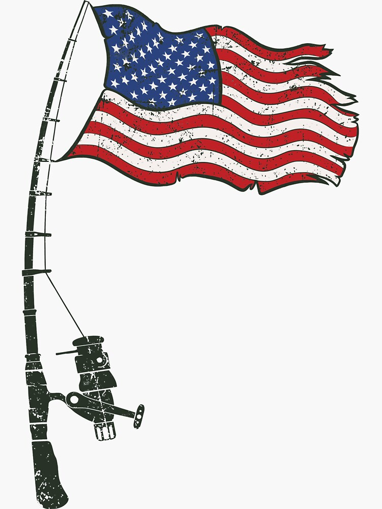 Fishing American Flag by dreamy11