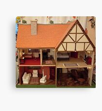Dolls House Canvas Print