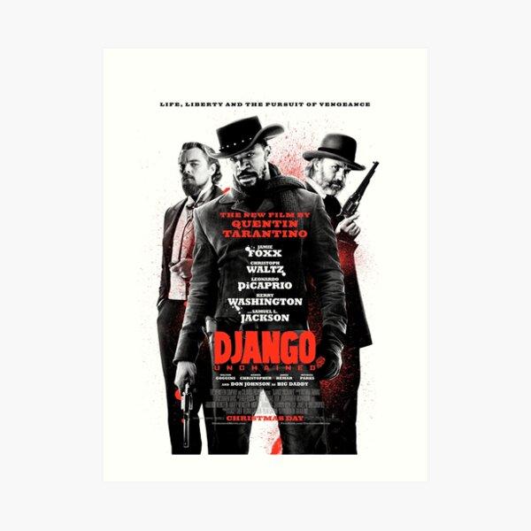 Django Unchained 2 (HD) Art Print