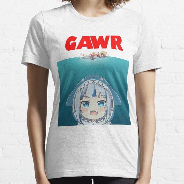 Hololive EN - Gawr Gura Parodie Essential T-Shirt