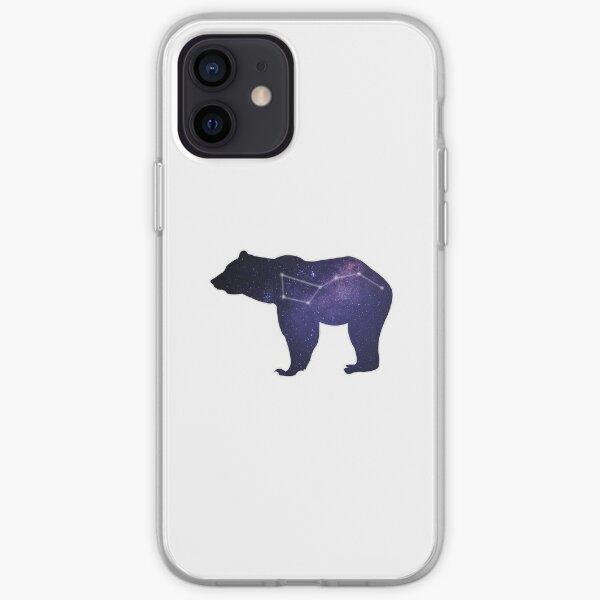 Ursa Major - The bear in the stars iPhone Soft Case