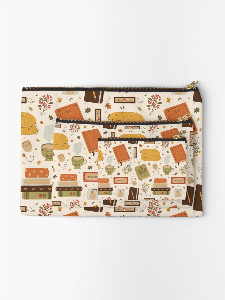 Alternate view of Cozy Reading Time Zipper Pouch